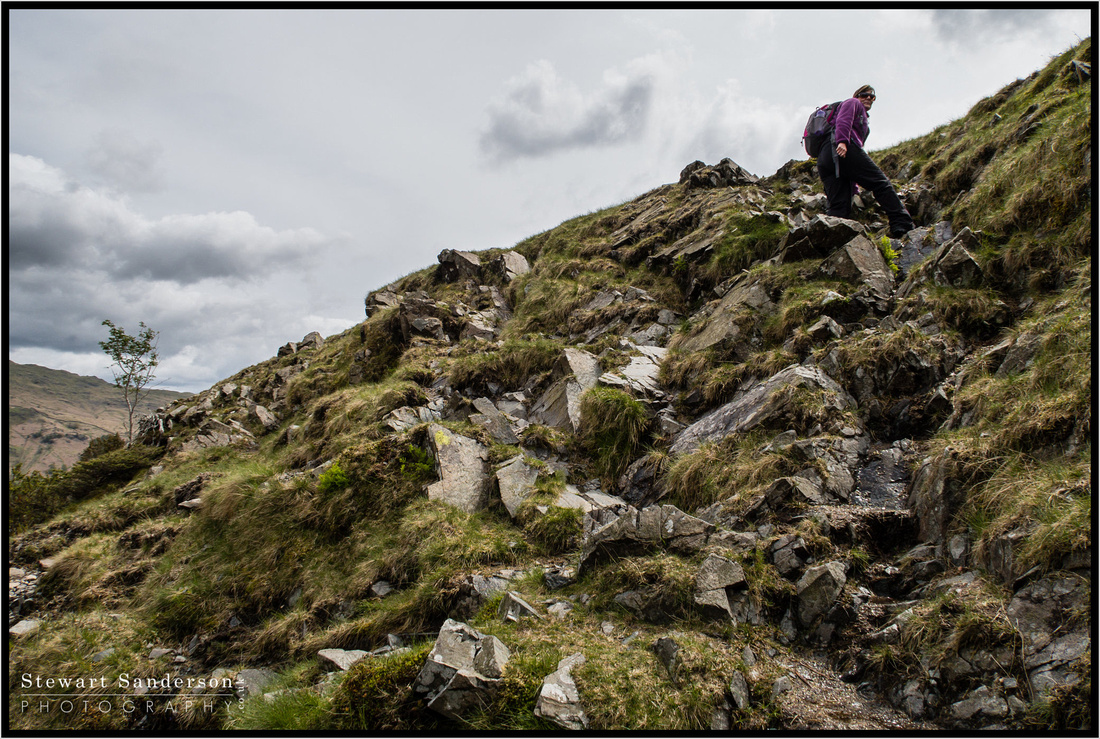 A great days hiking in the lake district up Silver Howe with my wife Mandy