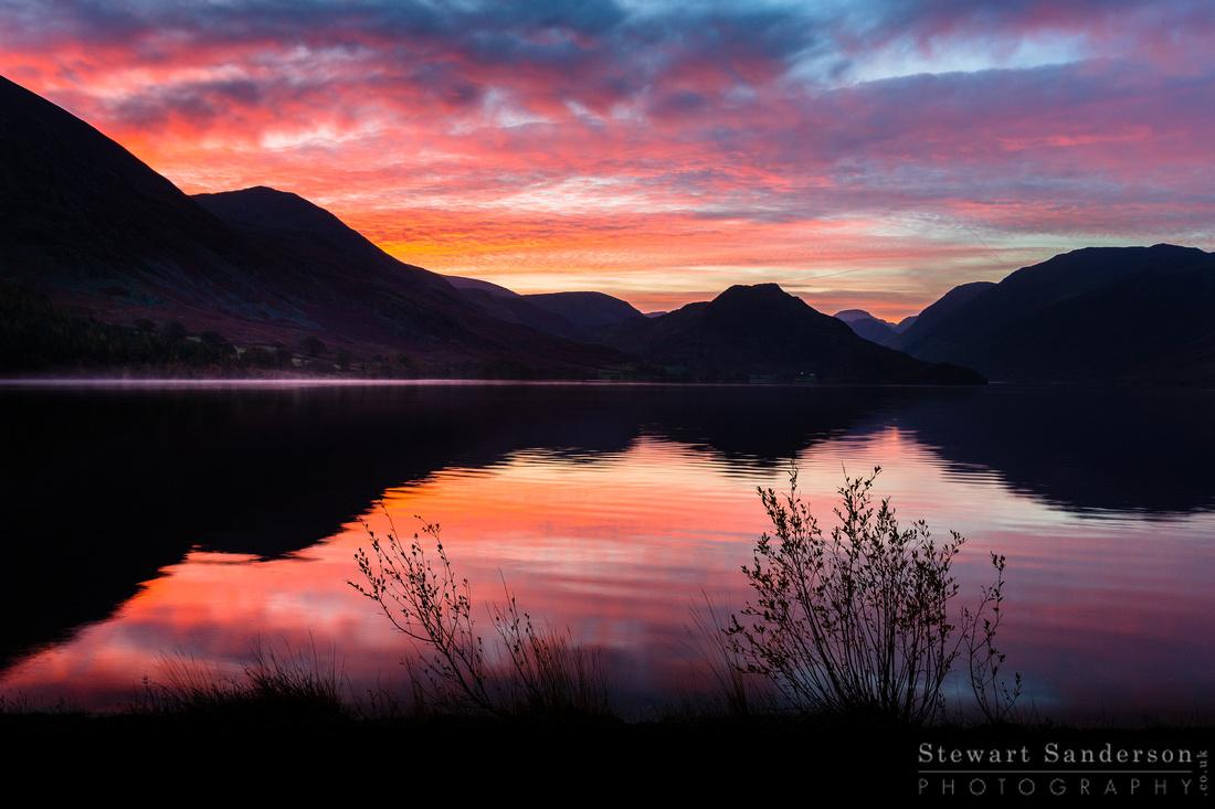 Crummock Water At Sunrise - Lake District