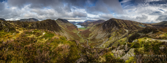 Haystacks & Fleetwith Pike Panorama - Lake District