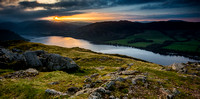 Sunset Over Ullswater - Lake District