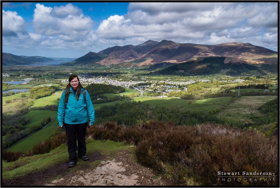 A lovely hike up Walla Crag in the Lake District with my Wife. The views over Derwentwater and Keswick are excellent. Some of the best in Lakeland I think.