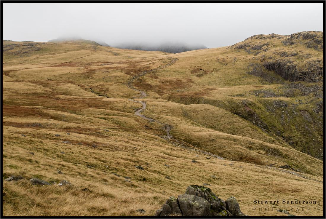 Cold Pike, English Lake District. Opposite Pike O Blisco