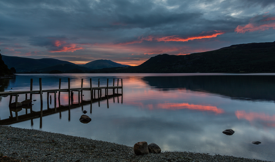 First light Over Derwent Water - Lake District. Aug 2014