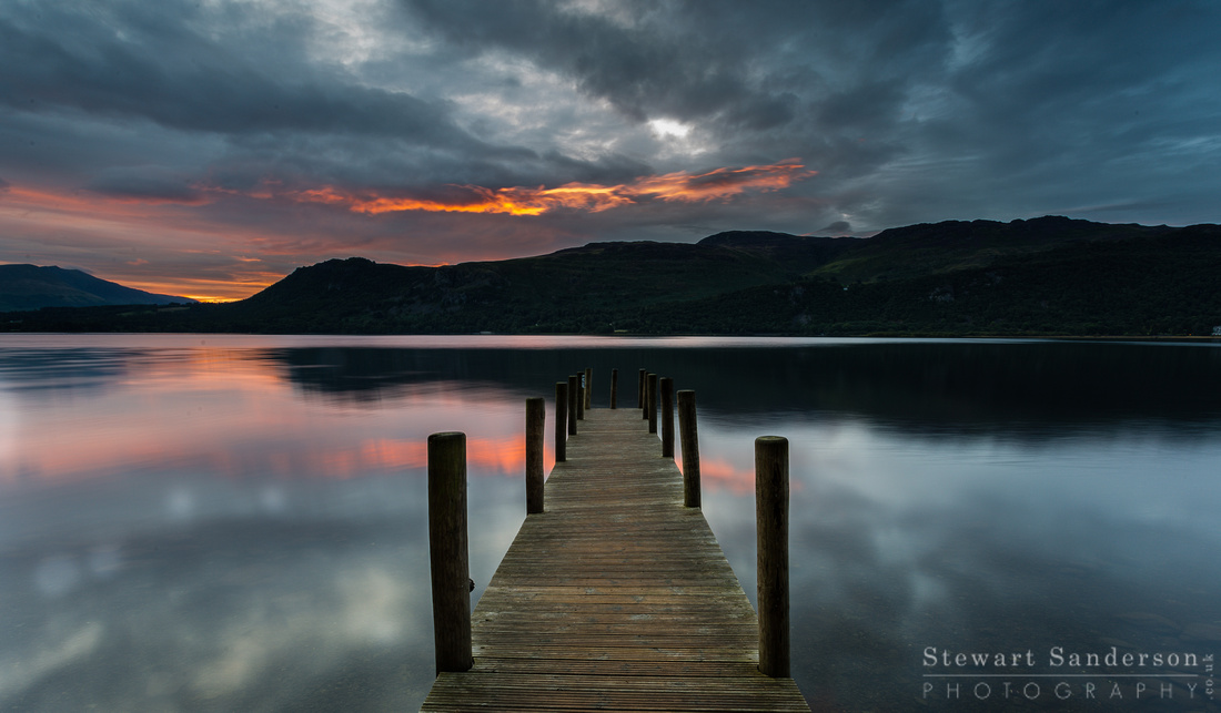 Sunrise Over Derwentwater - Lake District