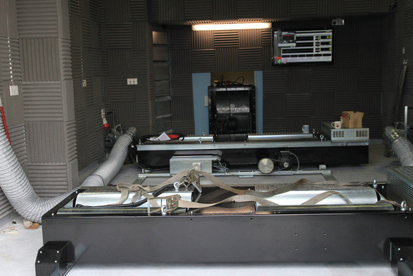 Stewart Sanderson Photography: Dyno Cell Assembly Day &emdash;